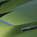 1972 Chevrolet Corvette Convertible Stingray 454 Hood by Jill Reger