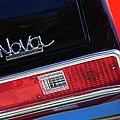 1972 Chevrolet Nova Ss Taillight Emblem -0355c by Jill Reger