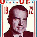 1972 Nixon Presidential Campaign by Historic Image