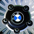 1973 Bwm 3.0 Csl Wheel Emblem by Jill Reger