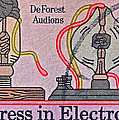 1973 Progress In Electronics Stamp by Bill Owen
