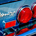 1974 Ferrari Dino Targa Gts Taillight Emblem by Jill Reger