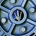 1974 Maserati Merak Wheel Emblem by Jill Reger