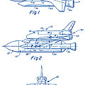 1975 Nasa Space Shuttle Patent Art 2 by Nishanth Gopinathan