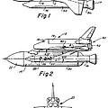 1975 Nasa Space Shuttle Patent Art 3 by Nishanth Gopinathan