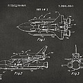 1975 Space Shuttle Patent - Gray by Nikki Marie Smith