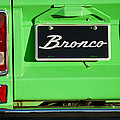1977 Ford Bronco Taillight by Jill Reger
