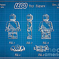 1979 Lego Minifigure Toy Patent Art 1 by Nishanth Gopinathan