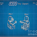 1979 Lego Minifigure Toy Patent Art 3 by Nishanth Gopinathan