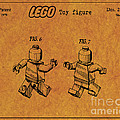 1979 Lego Minifigure Toy Patent Art 5 by Nishanth Gopinathan