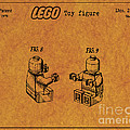 1979 Lego Minifigure Toy Patent Art 6 by Nishanth Gopinathan