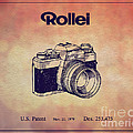 1979 Rollei Camera Patent Art 1 by Nishanth Gopinathan