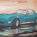 1980 Chevrolet Corvette/reflections by Russell Boothe