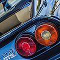 1980 Ferrari 308 Gtsi Taillight Emblem -0036c by Jill Reger