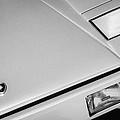 1982 Lamborghini Countach 5000s Hood Emblem -1518bw by Jill Reger