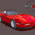 1986 Corvette by Jack Pumphrey