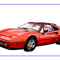 Ferrari 328 G T S 1986 by Jack Pumphrey