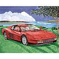 1987 Ferrari Testarosa  by Jack Pumphrey