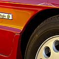 1988 Alfa Romeo Spider Quad Emblem by Jill Reger