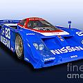 1988 Nissan Zx-gtp Race Car by Tad Gage