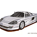 1991 Mercedes Benz C 112 Concept by Jack Pumphrey