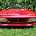 1993 Red Ferrari 512 Tr by Paul Ward