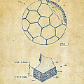 1996 Soccerball Patent Artwork - Vintage by Nikki Marie Smith