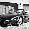 1997 Ferrari F 355 Spider -008bw by Jill Reger