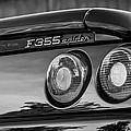 1997 Ferrari F 355 Spider Taillight Emblem -221bw by Jill Reger