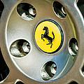 1997 Ferrari F 355 Spider Wheel Emblem -201c by Jill Reger