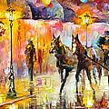 19th Century Mood by Leonid Afremov