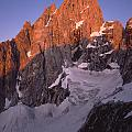 1m9380-sunrise On The North Face Of Grand Teton by Ed  Cooper Photography