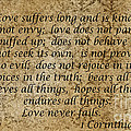 1st Corinthians 13 Verses 4 - 7  by Barb Dalton