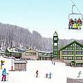1st Snow At Hidden Valley by Albert Puskaric