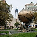 1w T C And The W T C Fountain Sphere by Rob Hans