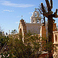 San Xavier Del Bac Mission by Joanne Beebe