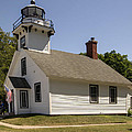 1870 Mission Point Lighthouse by Paul Cannon