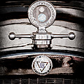 1928 Dodge Brothers Hood Ornament - Moto Meter by Jill Reger