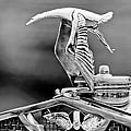 1930 Hispano-suiza H6c Kellner Transformable Hood Ornament by Jill Reger