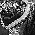 1931 Bentley 4.5 Liter Supercharged Le Mans Steering Wheel -1255bw by Jill Reger