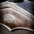 1931 Ford Grille Emblem by Jill Reger