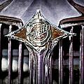 1933 Chrysler Sedan Grille Emblem by Jill Reger