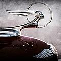 1933 Pontiac Hood Ornament by Jill Reger