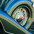 1933 Pontiac Spare Tire -0431c by Jill Reger