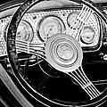 1936 Auburn Speedster Replica Steering Wheel by Jill Reger