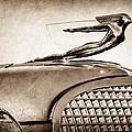 1937 Cadillac V8 Hood Ornament by Jill Reger
