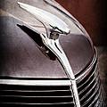 1937 Ford Hood Ornament by Jill Reger