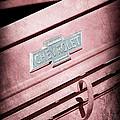 1938 Chevrolet Pickup Truck Emblem by Jill Reger