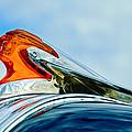 1950 Pontiac Hood Ornament by Jill Reger