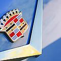 1954 Cadillac Coupe Deville Emblem by Jill Reger